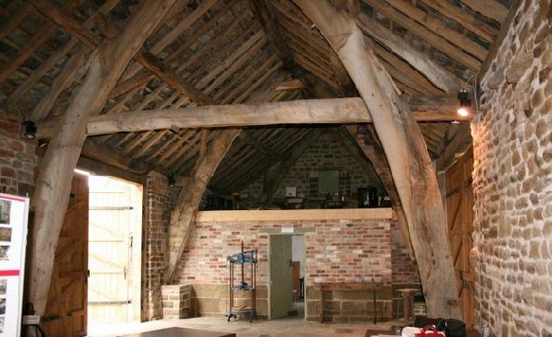 Newhall Farm Cruck Barn