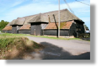 Peasemore House Barn